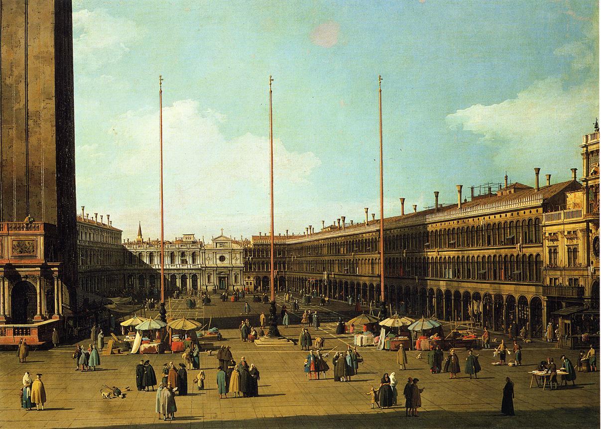 Le trasformazioni di Piazza San Marco tra XVI e XVII secolo, il ruolo dei  Procuratori e i problemi dell'architettura 'alla romana' all'inizio del 1600.  – Itinerarte